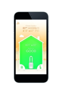Dyson Luftreiniger im Test - Smartphone Funktionen