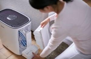 Wartung von einem Luftwäscher